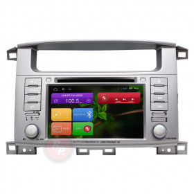 Штатная магнитола Redpower 31183 IPS DSP Toyota Land Cruiser 100 (с DVD)