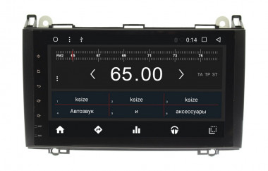 Штатная магнитола Wide Media WM-CF3072NC Mercedes-Benz Vito 2003-2014  W639 — Antistrelka.com