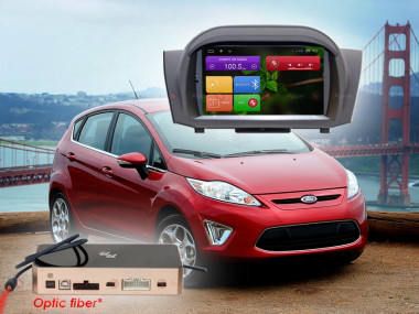 Штатная магнитола Redpower 31141 Ford Fiesta (2015+) (с DVD приводом) — Antistrelka.com